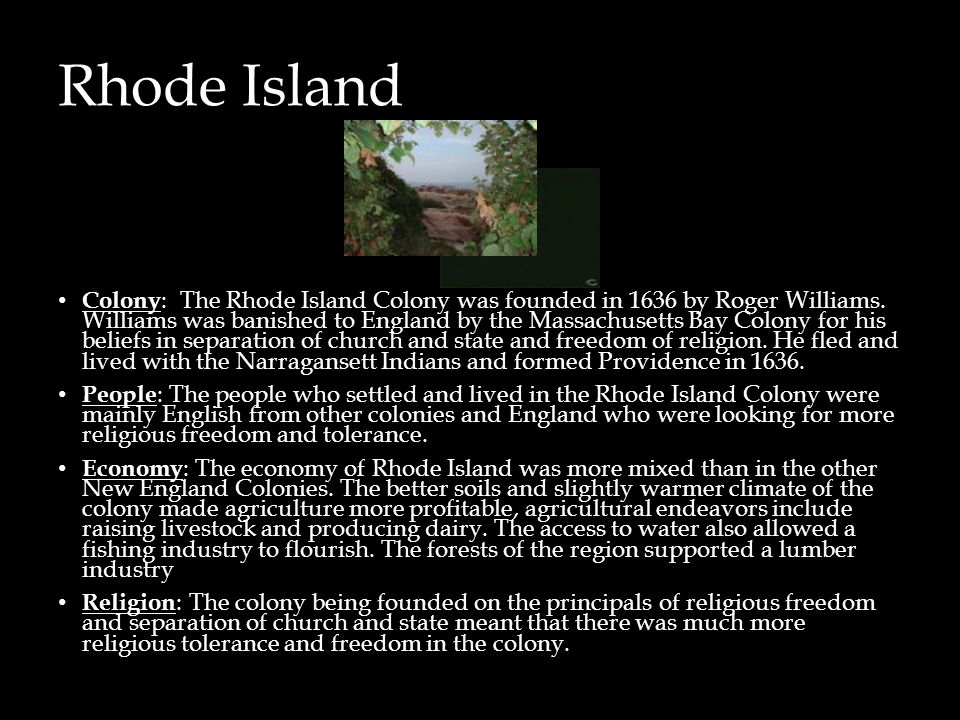 What Were The Natural Resources Of Rhode Island