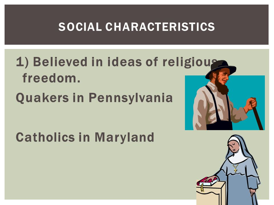 Social Characteristics