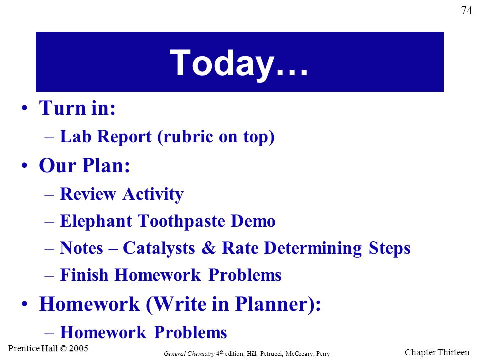 Today… Turn in: Our Plan: Homework (Write in Planner):