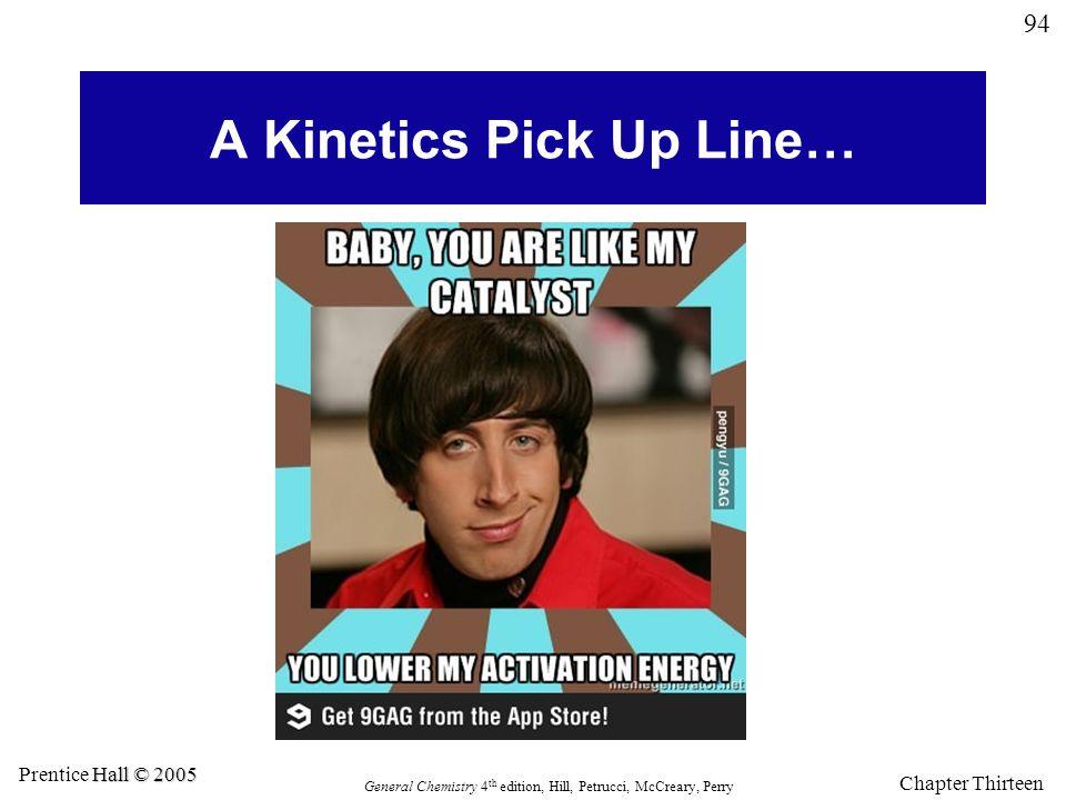 A Kinetics Pick Up Line…