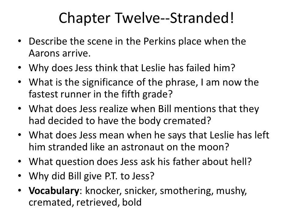 Chapter Twelve--Stranded!