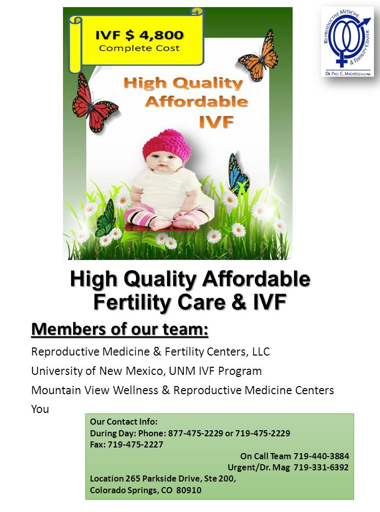 High Quality Affordable Fertility Care & IVF