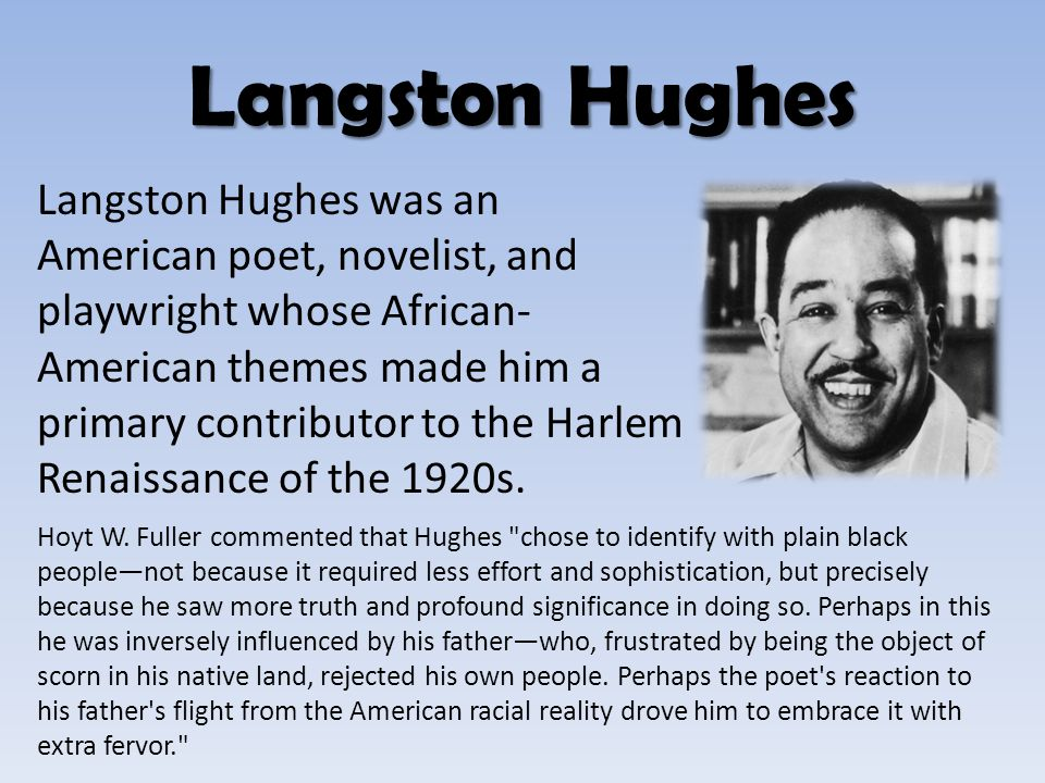 "english ""salvation"" vocabulary continued  langston hughes"