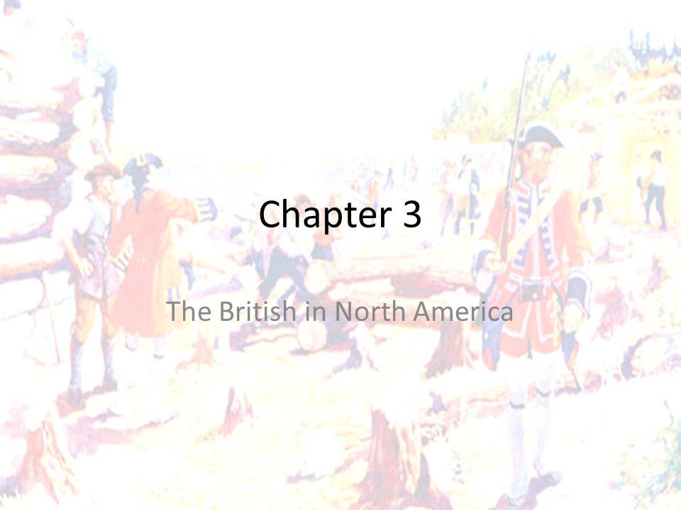 The British in North America