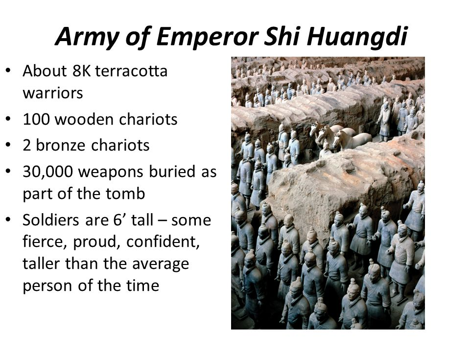 Army of Emperor Shi Huangdi