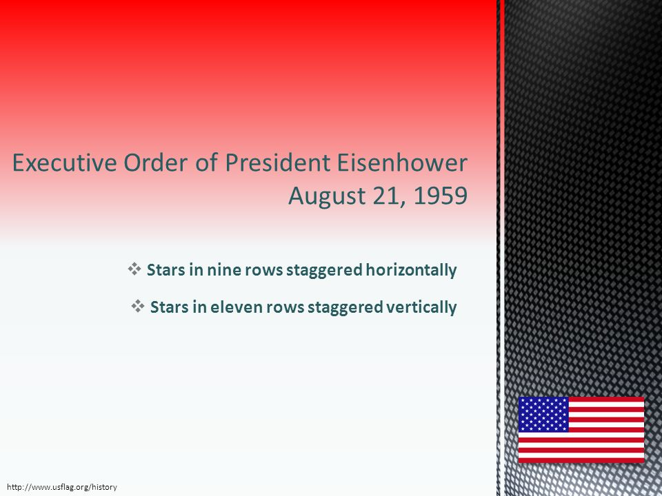 Executive Order of President Eisenhower August 21, 1959