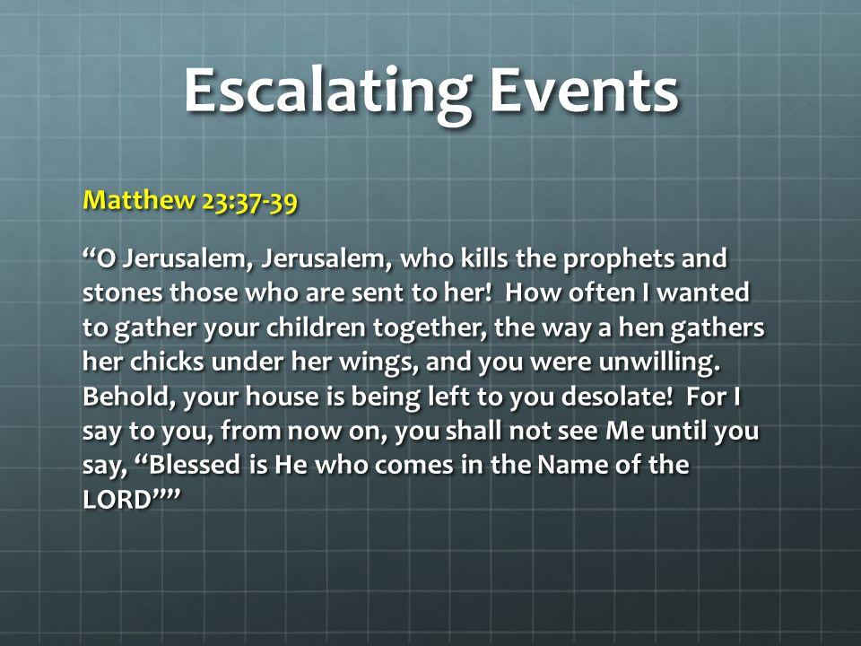 Escalating Events