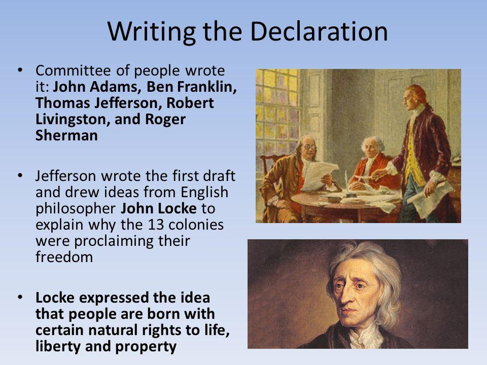 Writing the Declaration