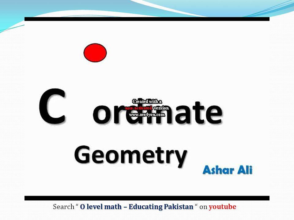 Search O level math – Educating Pakistan on youtube