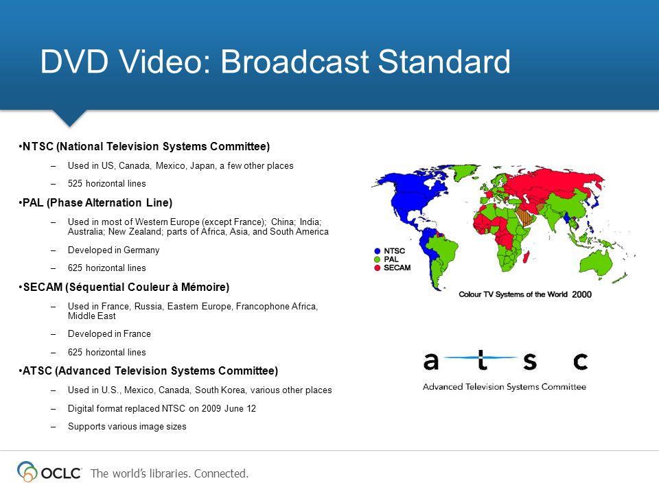 DVD Video: Broadcast Standard