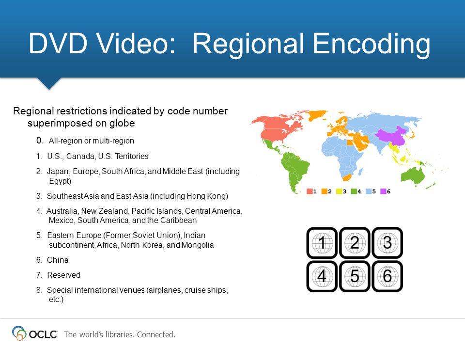 DVD Video: Regional Encoding