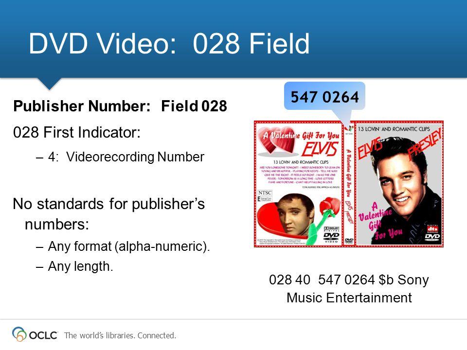 028 40 547 0264 $b Sony Music Entertainment