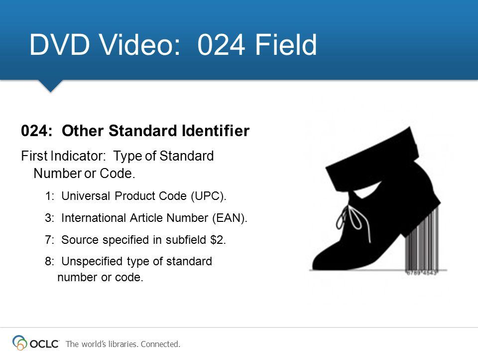 DVD Video: 024 Field 024: Other Standard Identifier