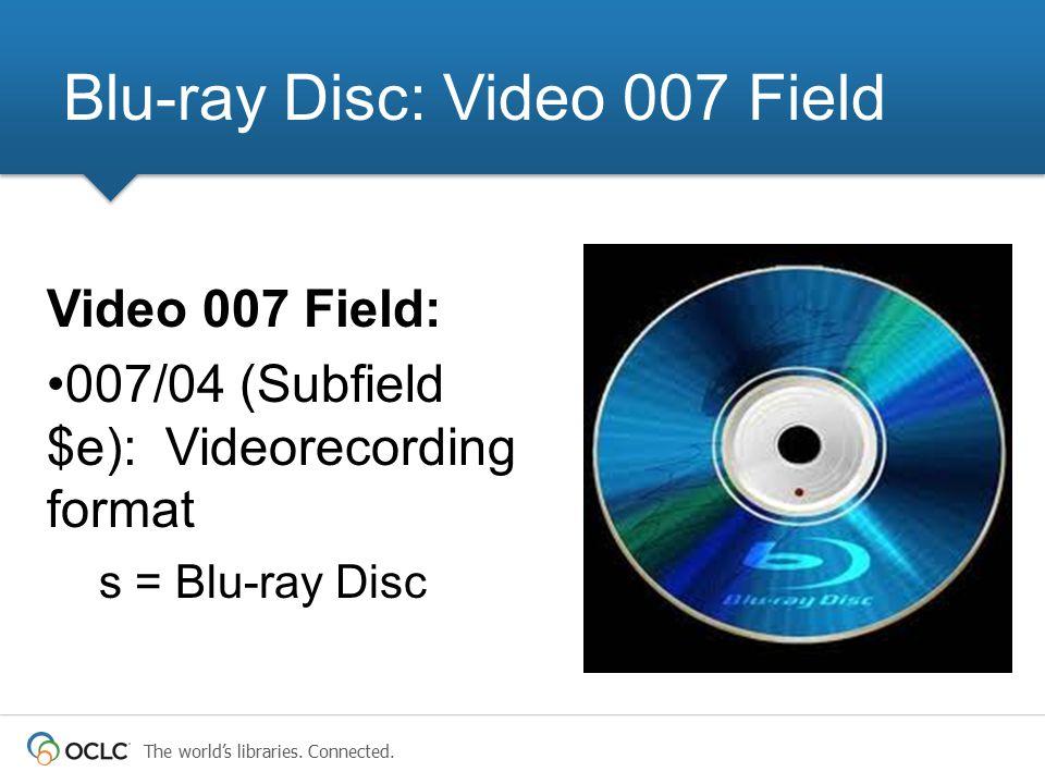Blu-ray Disc: Video 007 Field