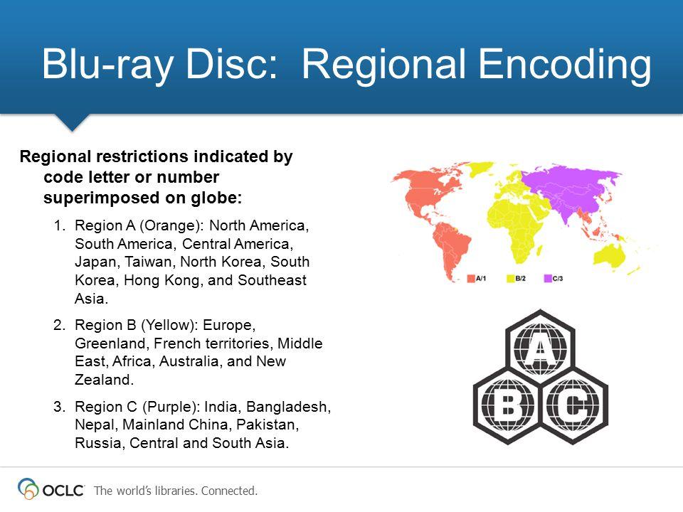 Blu-ray Disc: Regional Encoding
