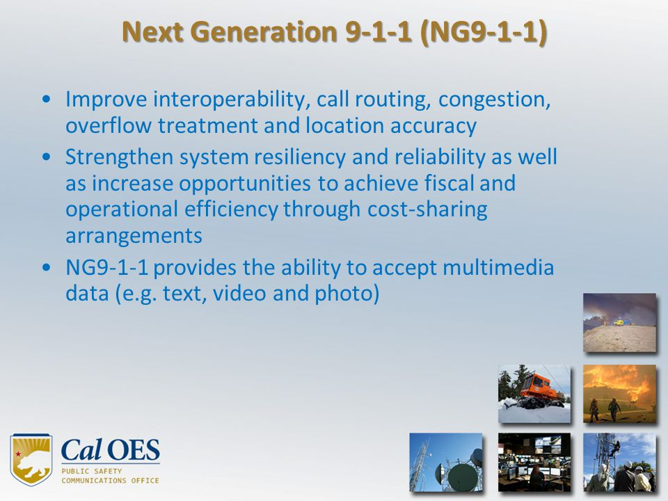 Next Generation 9-1-1 (NG9-1-1)