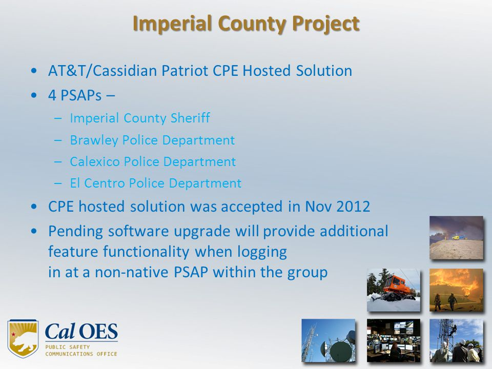 Imperial County Project