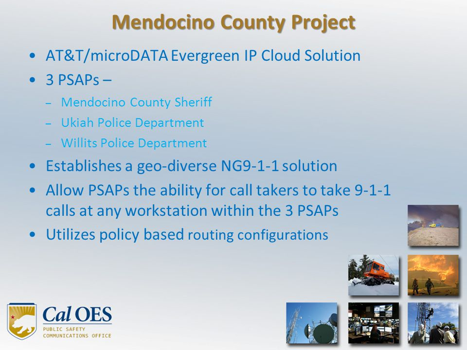 Mendocino County Project