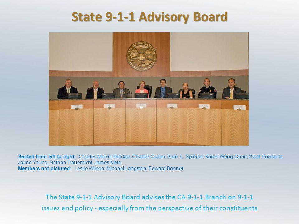 State 9-1-1 Advisory Board