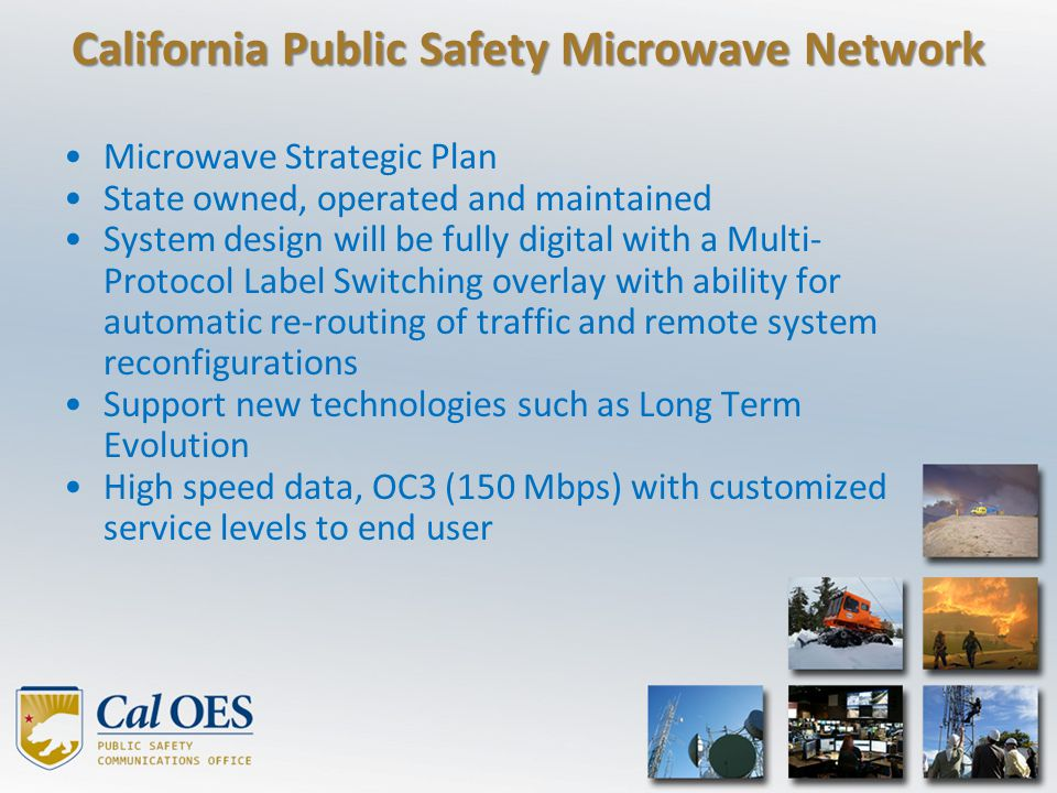 California Public Safety Microwave Network