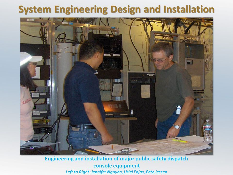 System Engineering Design and Installation