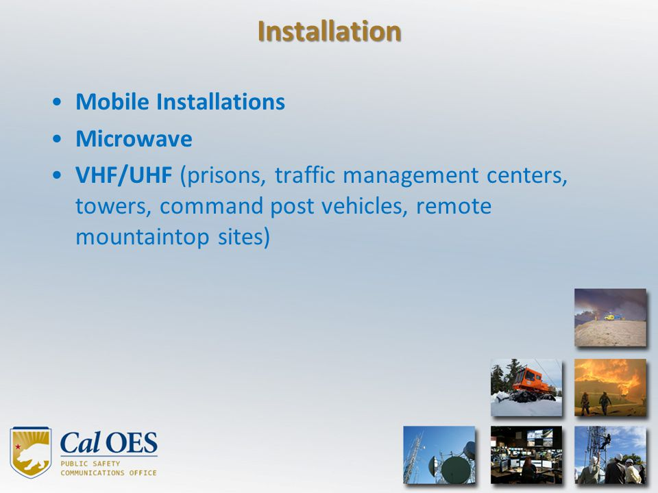 Installation Mobile Installations Microwave