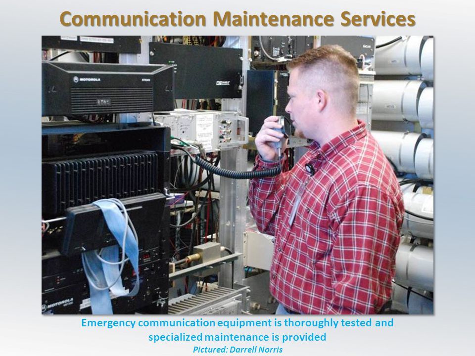 Communication Maintenance Services
