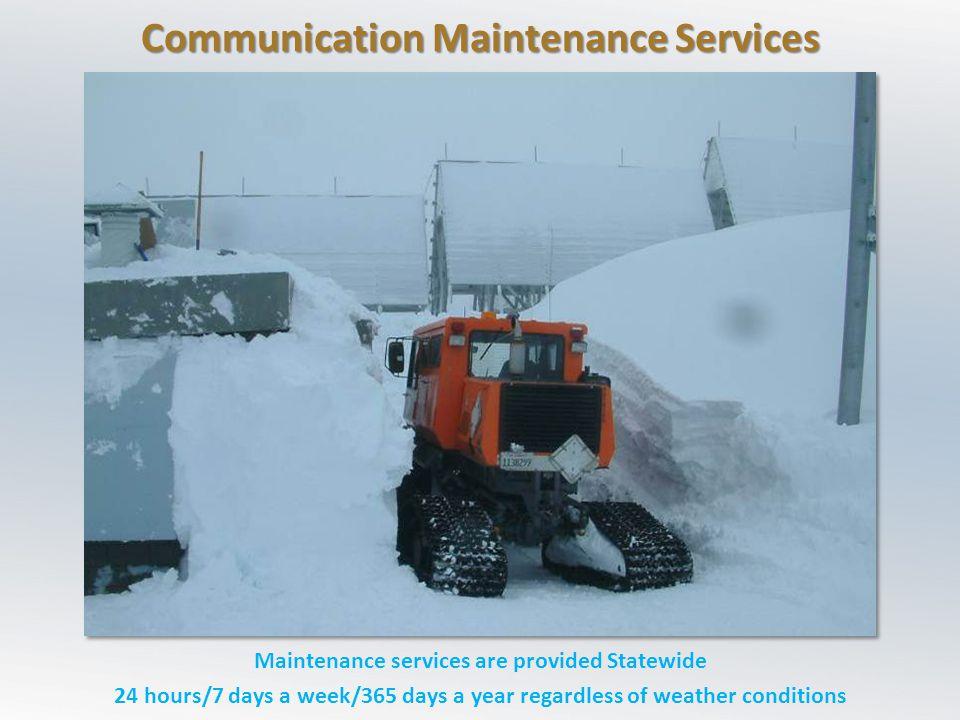 Communication Maintenance Services