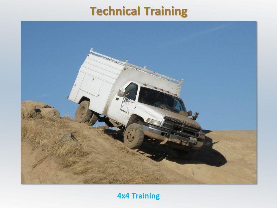 Technical Training 4x4 Training