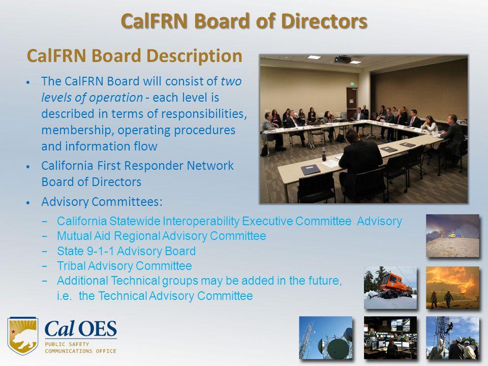 CalFRN Board of Directors