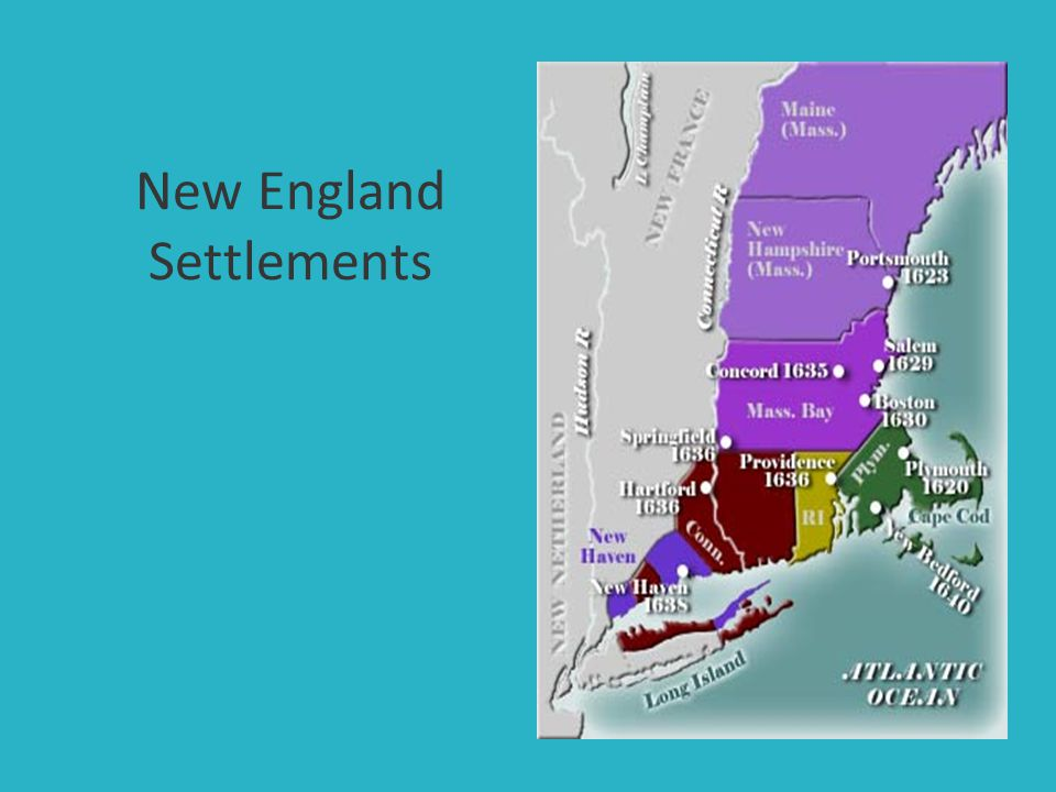 New England Settlements