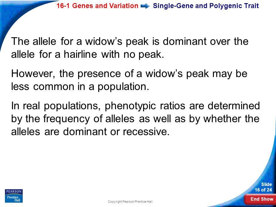 Single-Gene and Polygenic Trait