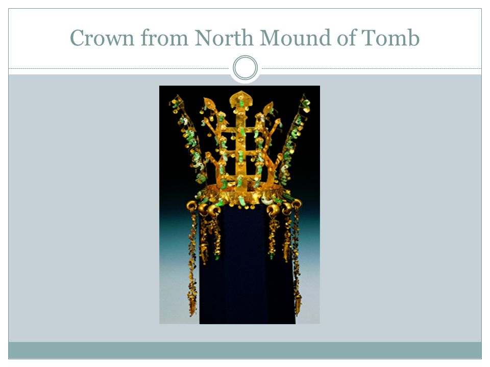 Crown from North Mound of Tomb