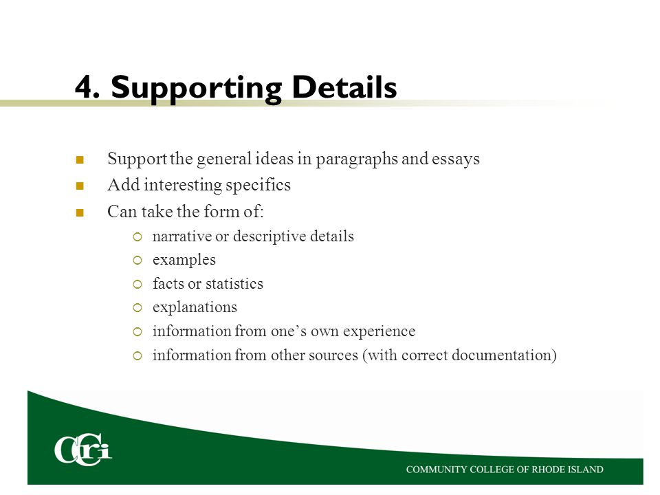 documentation essay format See an example of a college application essay, with a point-by-point critique.