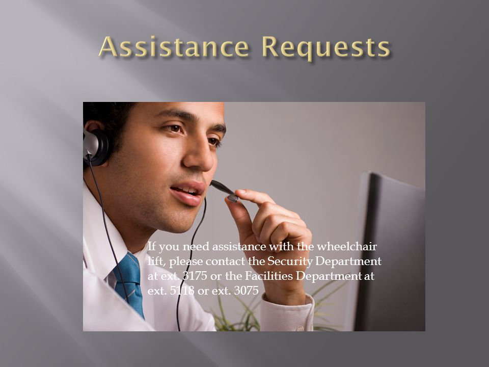 Assistance Requests