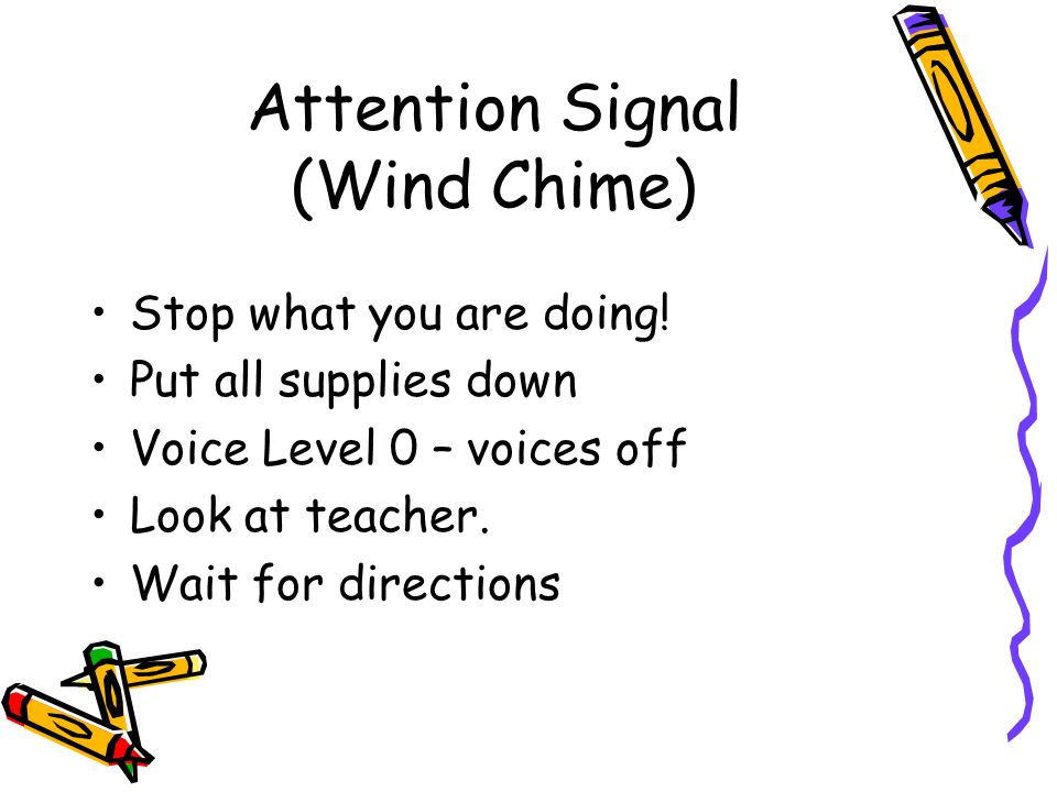 Attention Signal (Wind Chime)
