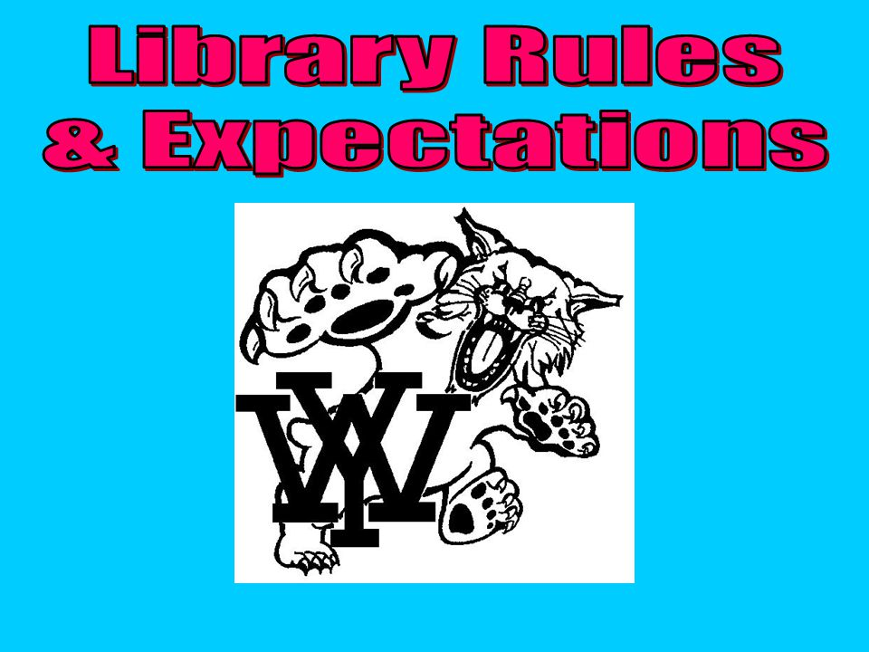 Library Rules & Expectations
