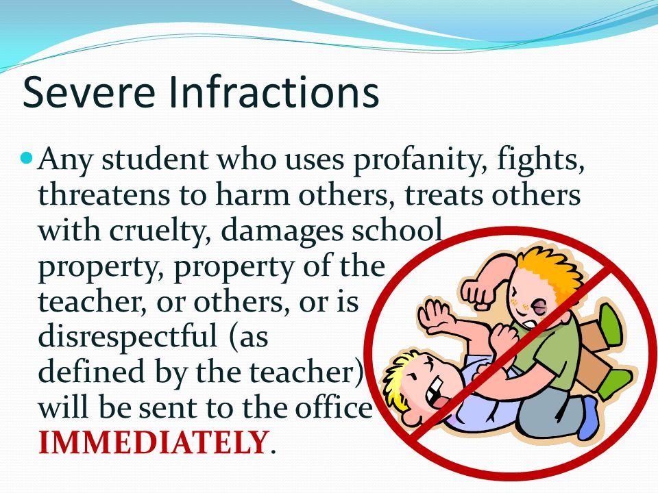 Severe Infractions