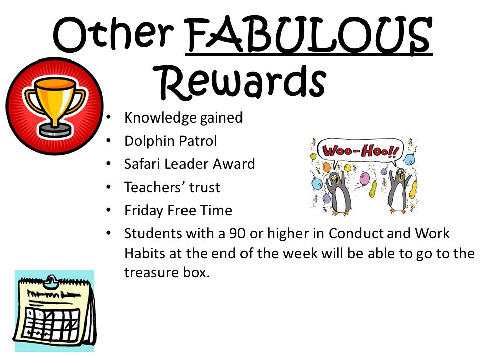 Other FABULOUS Rewards