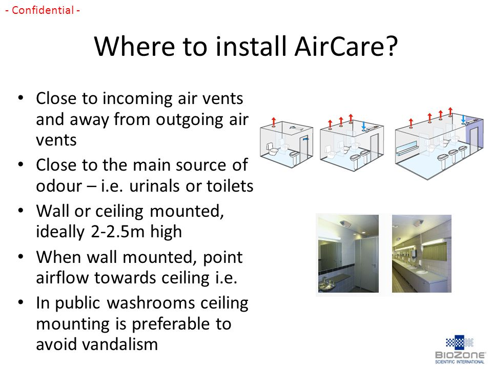 Where to install AirCare