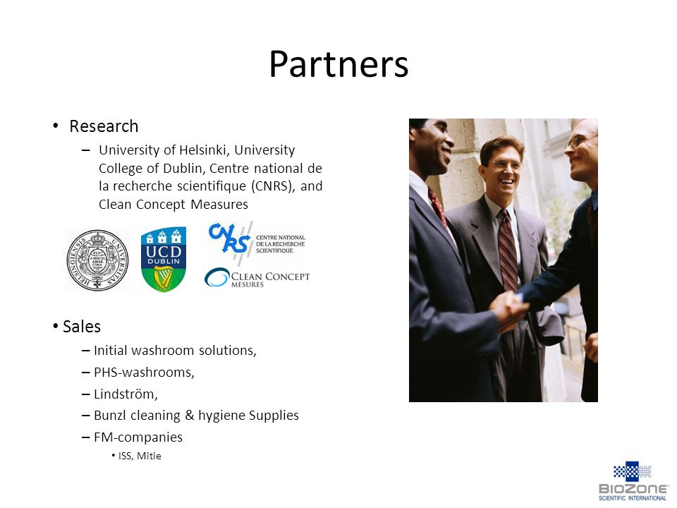 Partners Research Sales