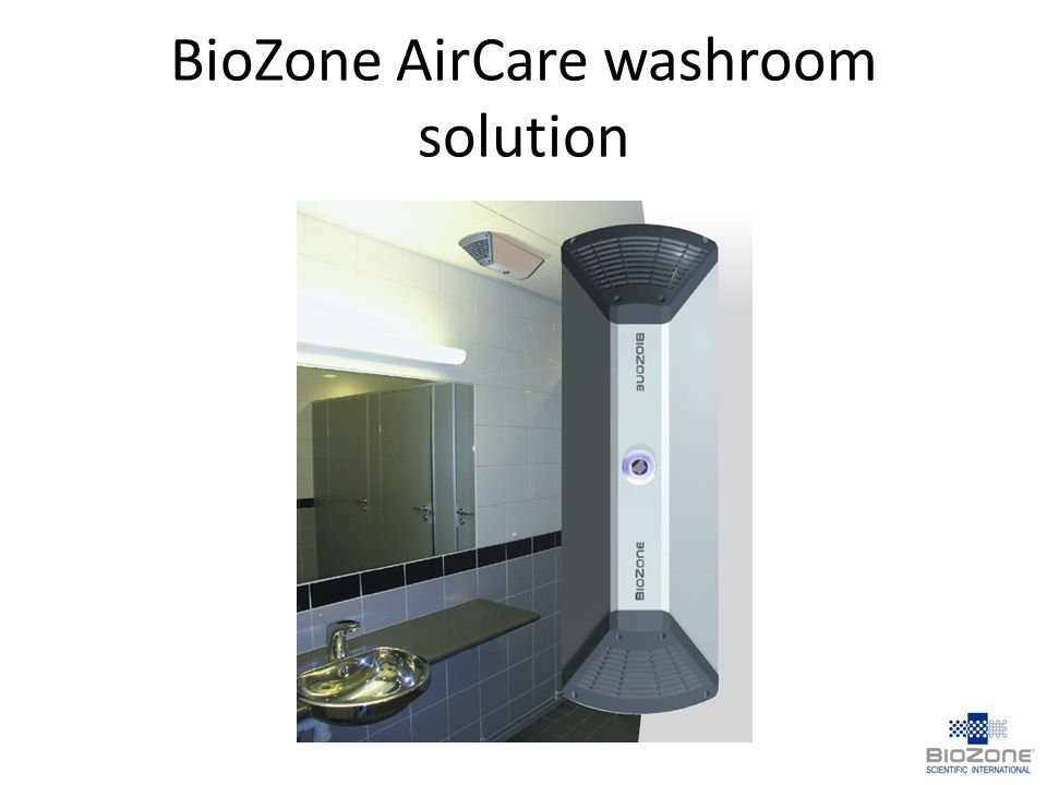 BioZone AirCare washroom solution