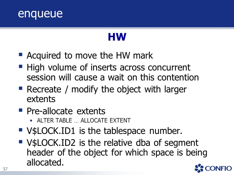 enqueue HW Acquired to move the HW mark