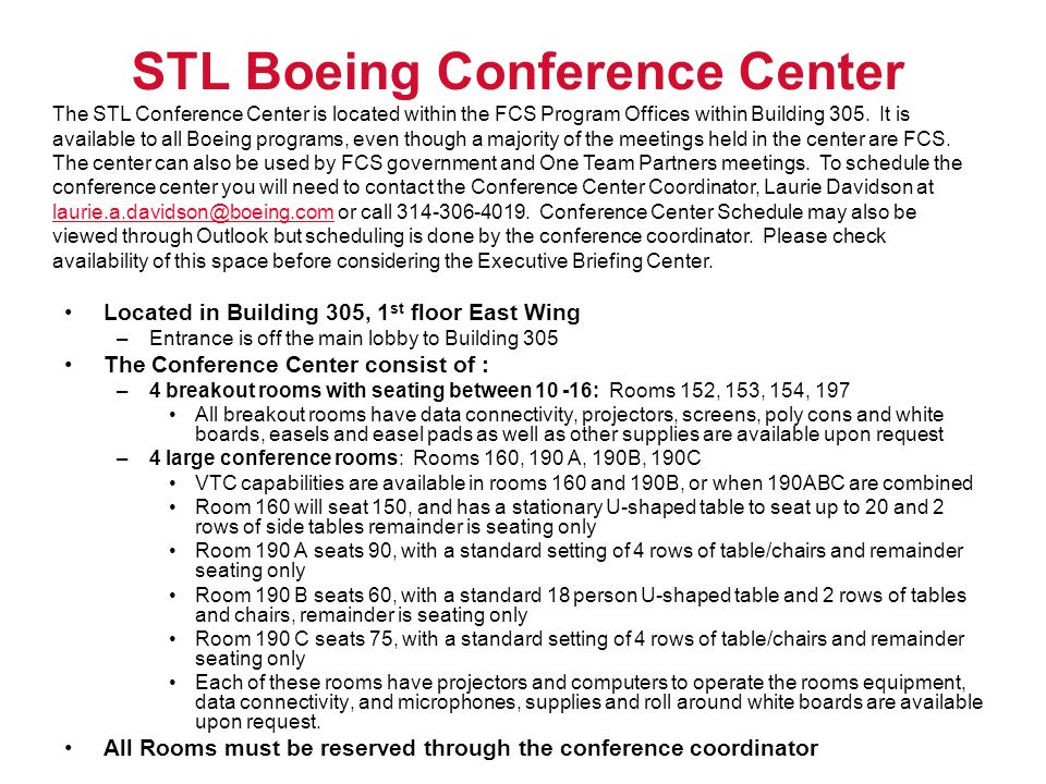 STL Boeing Conference Center