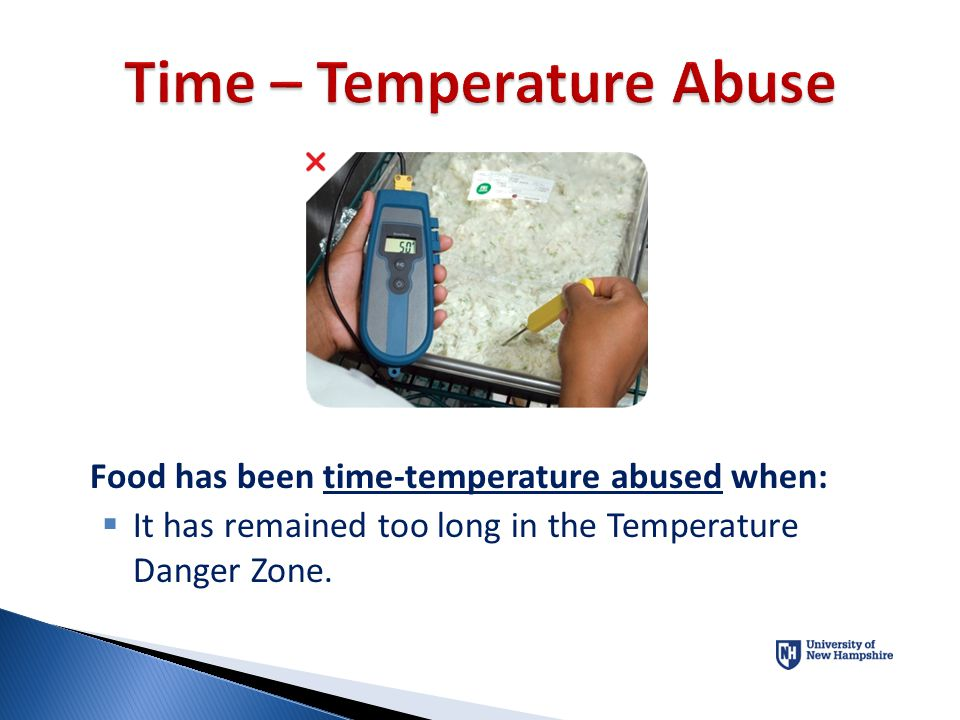 Time – Temperature Abuse