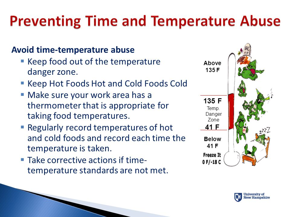 Preventing Time and Temperature Abuse