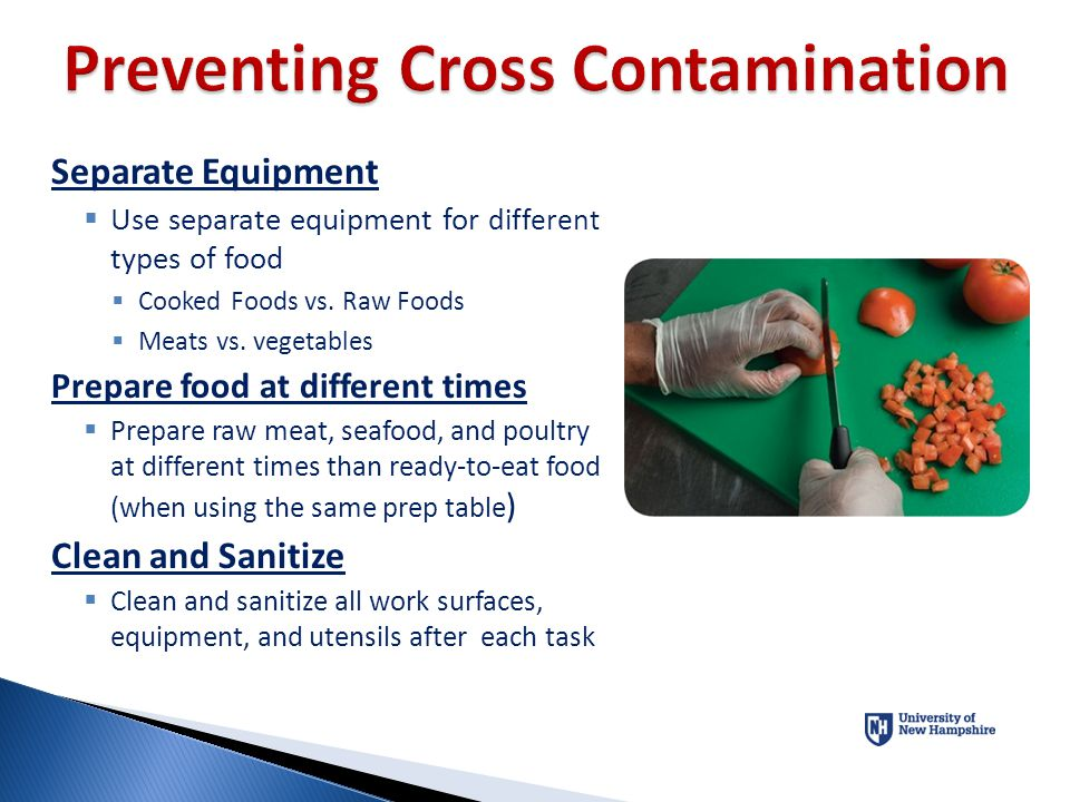 Preventing Cross Contamination