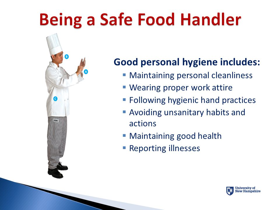 Being a Safe Food Handler