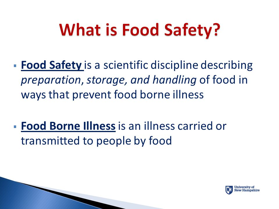 What is Food Safety