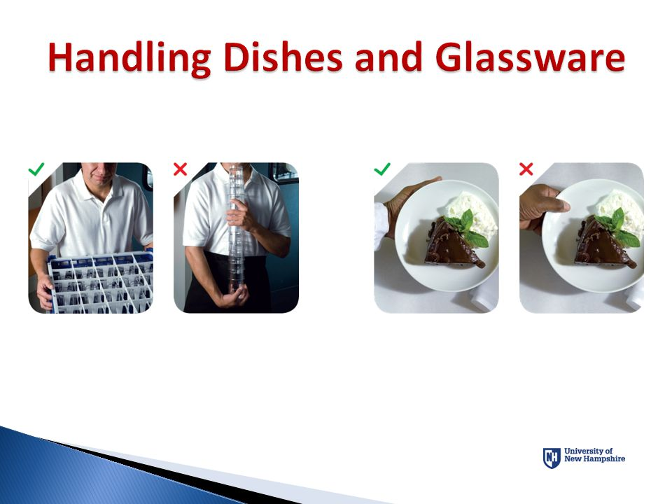 Handling Dishes and Glassware